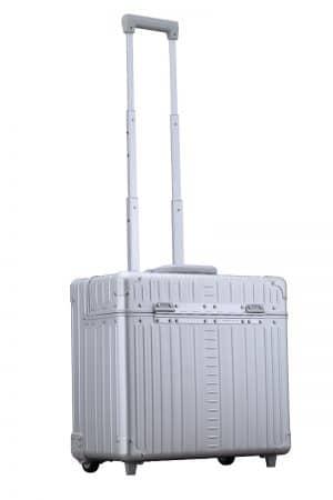 Pilot-case-aluminum-silver