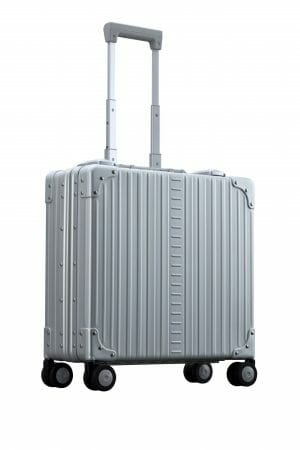 Vertical wheeled laptop case business trip briefcase