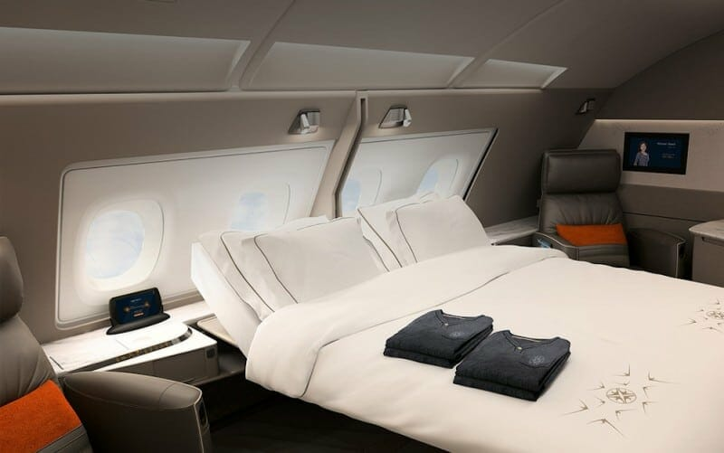 The Singapore Airlines First Class Suite