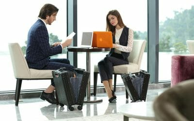 Classic and Vertical Aluminum Carry-on Luggage